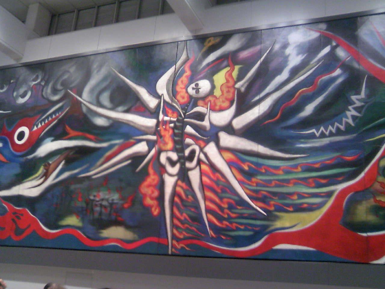 渋谷駅新壁画